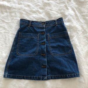 Zara Denim Skirt size S